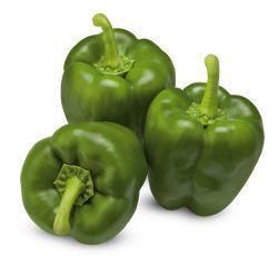 Φρέσκες Πράσινες Πιπεριές